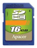 SecureDigital SDHC 16GB Apacer Class 4 (AP16GSDHC4-R)