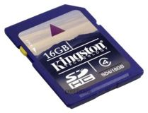 SecureDigital SDHC 16GB Kingston Class 4 (SD4/16GB)