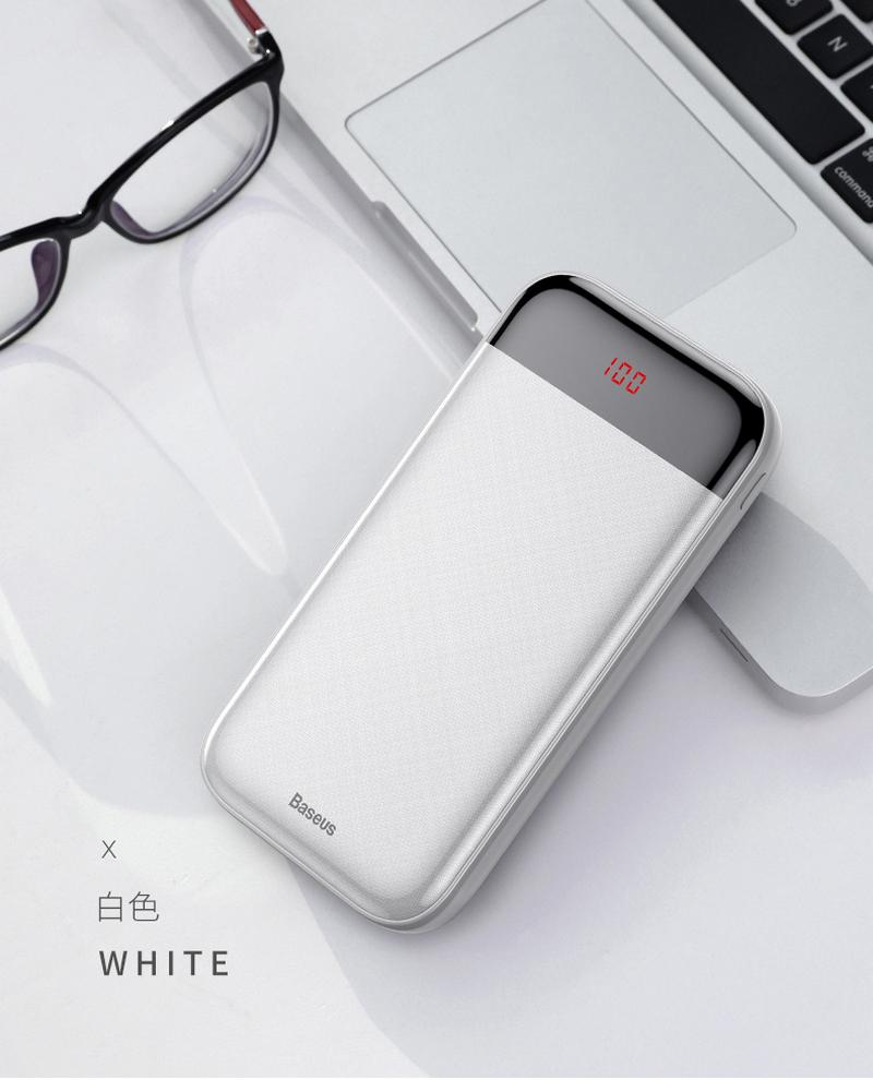 Powerbank мобильный аккумулятор Baseus M29 20000mAh 8(495)971-2057