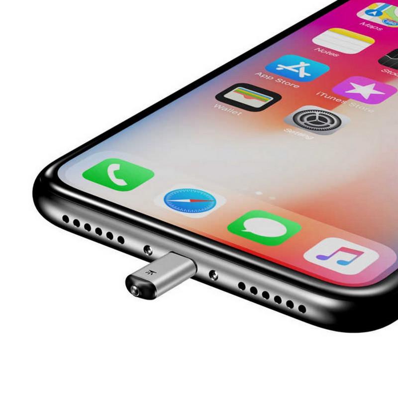 Baseus R01 IR универсальный инфракрасный адаптер-пульт управления ДУ для бытовой техники с помощью смартфона iPhone 8(495)971-2057
