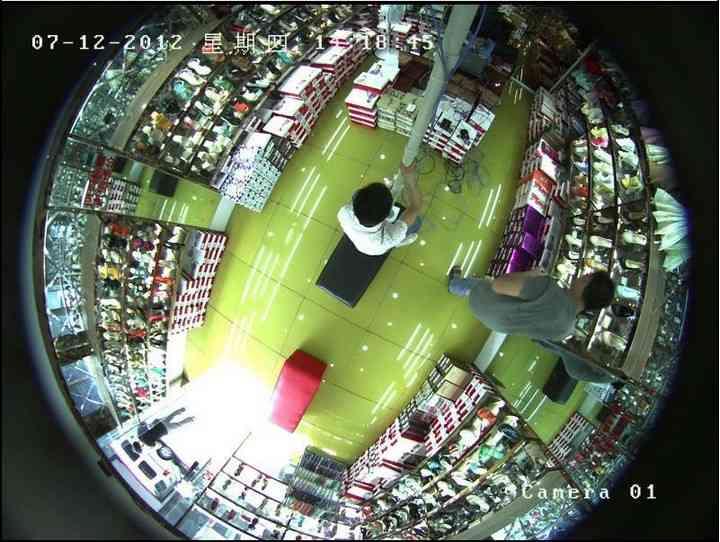 Купольная CCD-видеокамера с сверхширокоугольным объективом ENC EC-649 600TVL Sony камера видеонаблюдения