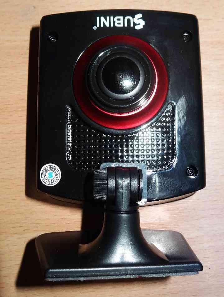 Автомобильный видеорегистратор с радар детектором раздельной установки Subini STR-825RU Глонасс