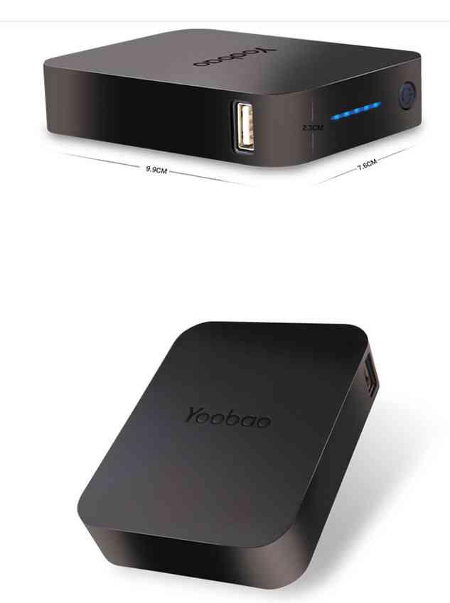 Универсальный внешний аккумулятор Yoobao Power Bank YB-647 10400 мАч