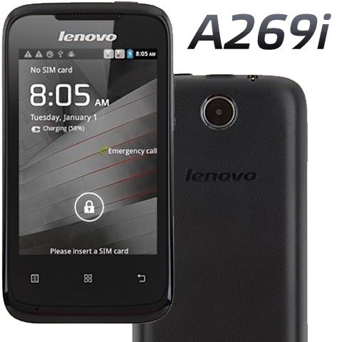 Обзор фото инструкция lenovo a269i black