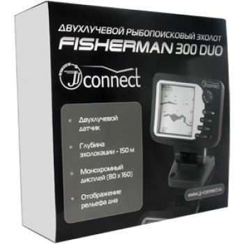 Эхолот JJ-Connect Fisherman 300 Duo