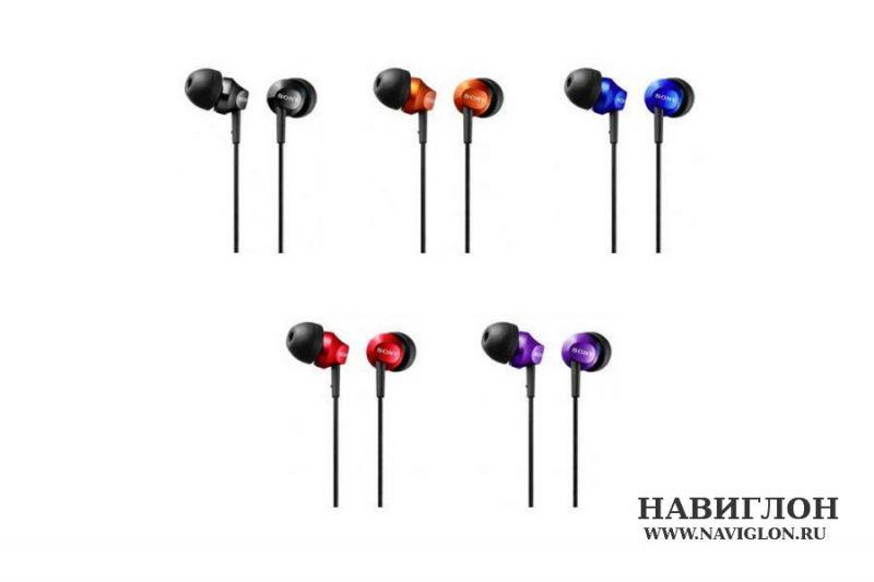 Гарнитура (наушники) Sony MDR-EX50LP purple (фиолетовый) в магазине ... 6183b4538ebd3