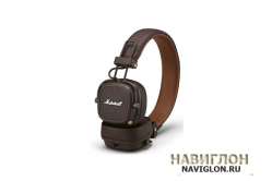 Наушники Bluetooth Marshall Major III Brown