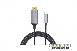 Кабель HDMI для Type-C HOCO UA13 Full HD 4K/2K 1.8m