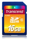 SecureDigital SDHC 16Gb Transcend Class 10 (TS16GSDHC10)