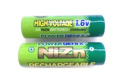 Аккумулятор PowerGenix Ni-Zn AA Rechargeable 1.6v 2500mah
