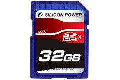 SecureDigital SDHC 32GB Silicon Power Class 6 (SP032GBSDH006V6)