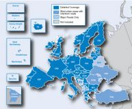 Карты Европы Navteq City Navigator® Europe 2012 NT для навигаторов Garmin