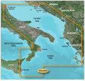 Карты BlueChart g2 Vision VEU453S Adriatic Sea, South Coast (юг Адриатики)