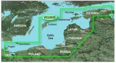 Карты BlueChart g2 Vision VEU505S Baltic Sea, East Coast (Польша, Калининград, Прибалтика).