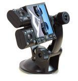 Автомобильный регистратор на две камеры с радиусом поворота 180 градусов. .